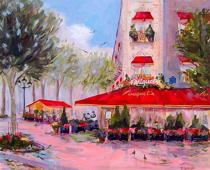 Fouquet's Cafe